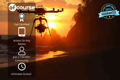 OfCourse - Online drone photography And videography course - Save 83%