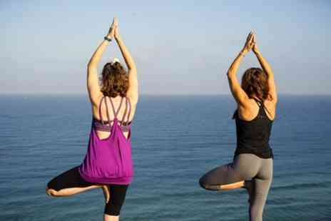 Yoga Wellbeing - Yoga on Whitstable beach for couples - Save 0%