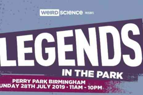 Legends in the Park 2019 - One early bird ticket on 28th July - Save 36%