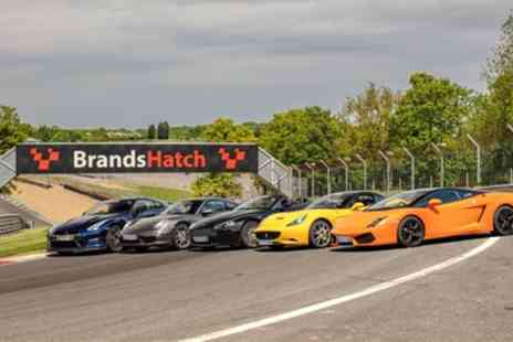 Supercar Drive Days - Three Laps in One or Two Supercars and Optional Hot Lap - Save 20%