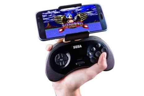 Groupon Goods Global GmbH - One or Two Paladone Sega Saturn-Shaped Android Smartphone Controllers with Built In Removable Holder - Save 67%