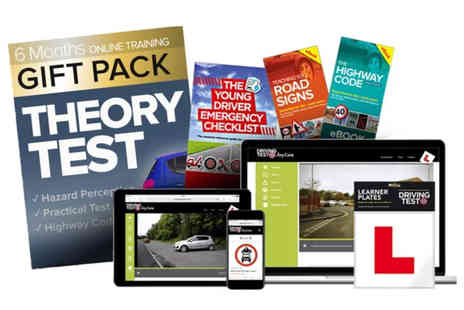 eoutlet - Online theory and driving test bumper pack - Save 78%