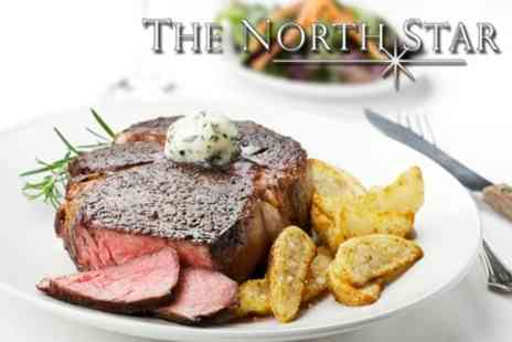The North Star - Two Courses of Modern European Fare For Two Plus Wine or Beer - Save 60%