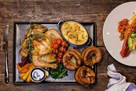 The Clarence Social - Two Course Sunday Lunch for Two or Four - Save 50%