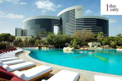 Grand Hyatt Dubai - Five Star Contemporary Style and Luxury on Dubai Creek for two - Save 78%