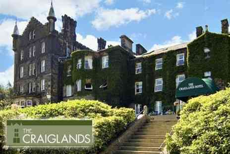 The Craiglands Hotel - One Night Stay for Two with Afternoon Tea and Breakfast - Save 56%