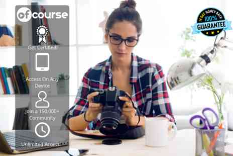 OfCourse - Online dslr photography for beginners course - Save 76%