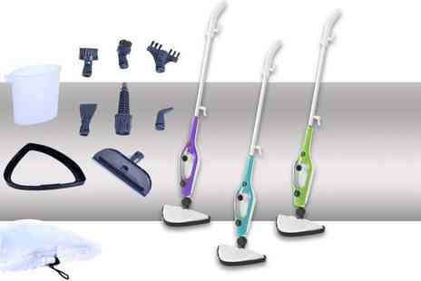 Home Empire - 10 in 1 SteamPro mop choose from three colours - Save 71%