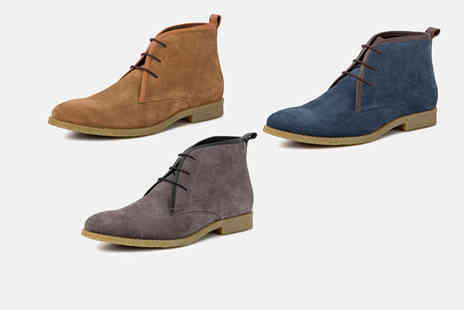 Redfoot Shoes - Pair of suede ankle boots choose from three colours - Save 79%