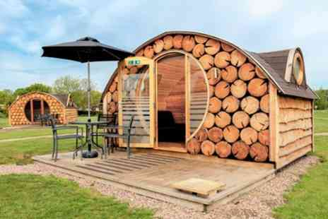 Riverside Park Glamping Pods - Snug or Beehive Stay for Up to Four - Save 0%