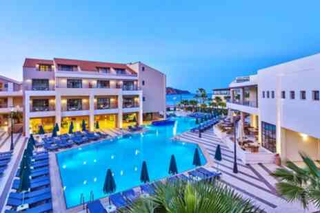 Jetline Holidays - Five Star Seven Nights All Inclusive Stay at Porto Platanias Beach Resort & Spa with Return Flights - Save 0%