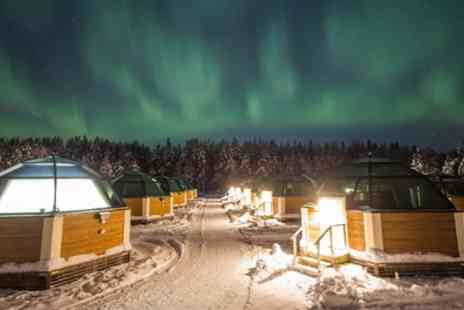 Jetline Holidays - Five Nights Stay at Arctic Snow Hotel and Glass Igloos with Optional Husky Ride and Flights - Save 0%