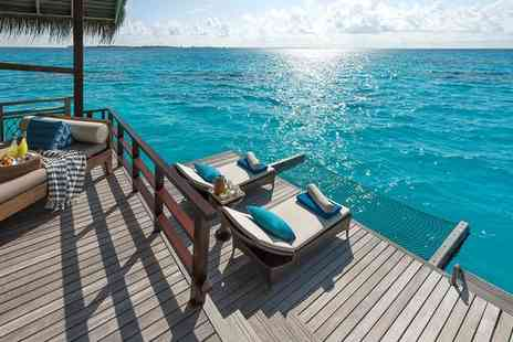 Shangri Las Villingili Resort & Spa - Five Star Breathtaking Water Villa Relaxation in Total Paradise - Save 0%