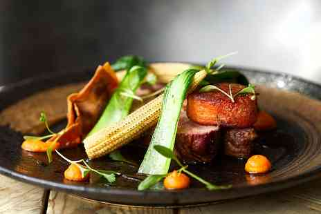 Glazebrook House - Delicious tasting menu meal for Two - Save 28%