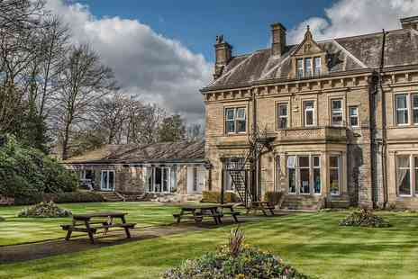 Durker Roods Hotel - West Yorkshire manor stay with meals - Save 0%