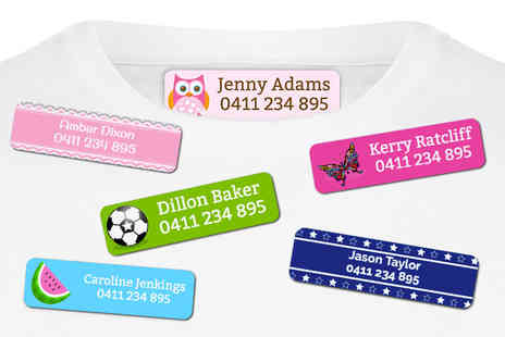 Dinkleboo - Pack of 44 iron on name labels - Save 78%