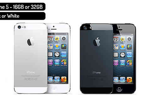 E Circuits - Unlocked Apple iPhone 5, 6 or 7 Choose from 16GB, 32GB or 64GB - Save 53%
