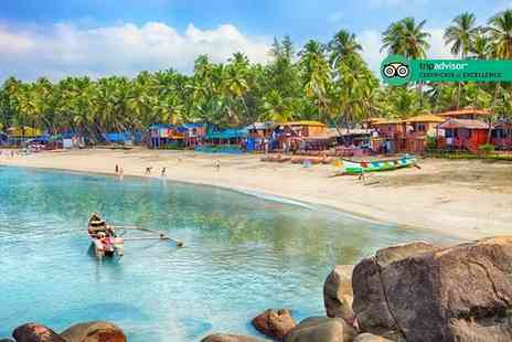 Super Escapes Travel - Seven nights Goa beach break with breakfast and flights - Save 50%