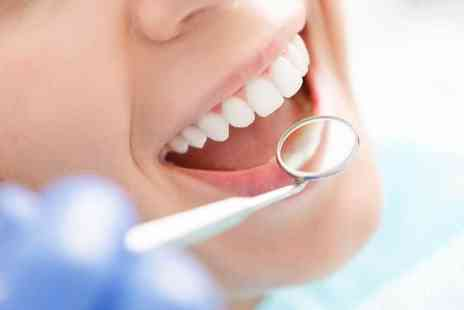 Maple Dental Clinic - Full dental exam with a scale and polish - Save 79%