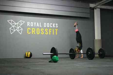 Royal Docks Crossfit - Four CrossFit sessions - Save 76%