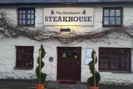 The Gatehouse Steakhouse - Two Course Meal with Sides for Two - Save 32%