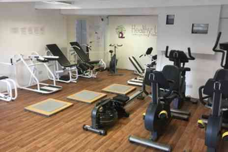 Healthy U - One Month Gym Membership - Save 71%