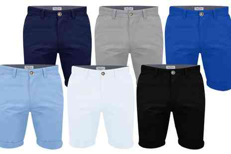 Groupon Goods Global GmbH - Stallion Mens Chino Shorts - Save 0%