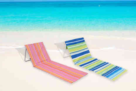 Eurotrade - Portable folding beach mat - Save 67%