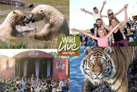 Yorkshire Wildlife Park - Two tickets to Wild Live Safari Nights - Save 31%