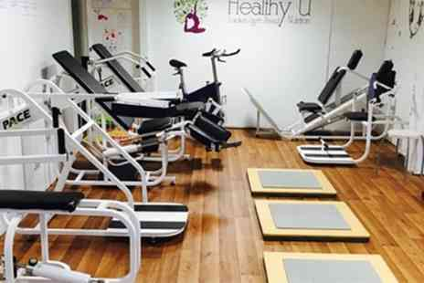 Healthy U - Gym Day Pass with Fitness Classes or Weight and Measure Service or One Month Membership - Save 40%