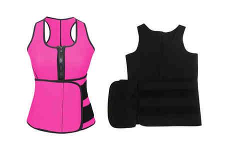 YelloGoods - Waist trainer body vest choose from two colours - Save 65%