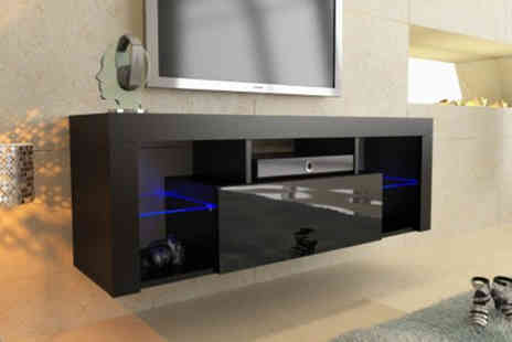 IQGB - 130cm modern TV unit with Led lights - Save 0%