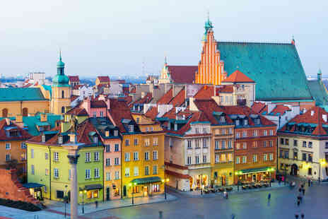 Bargain Late Holidays - Four Star Two nights Warsaw city break and return flights - Save 27%