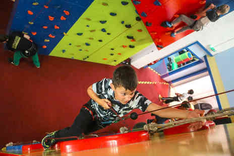 Rock Over Climbing - 90 minute soft play party for up to 20 children or one hour climbing party for up to 16 children - Save 65%