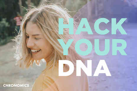 Chronomics - DNA health test and results with three months of online access to a health analysis and management programme - Save 84%