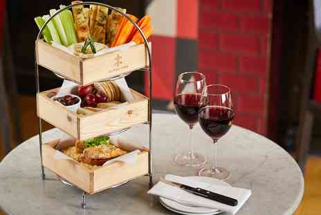 Cafe Rouge - Cheese afternoon tea for Two - Save 17%