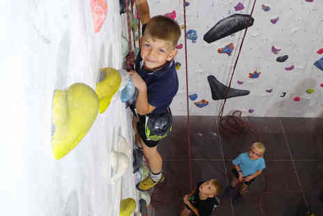 The Foundry Climbing Centre - One rock climbing session for two children keep the kids active during the summer holidays - Save 50%