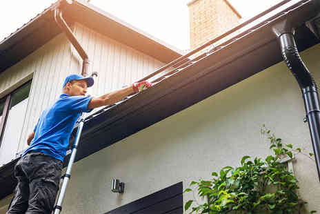 Eco Window Cleaning - Gutter cleaning service, include a fascia cleaning or window cleaning - Save 69%