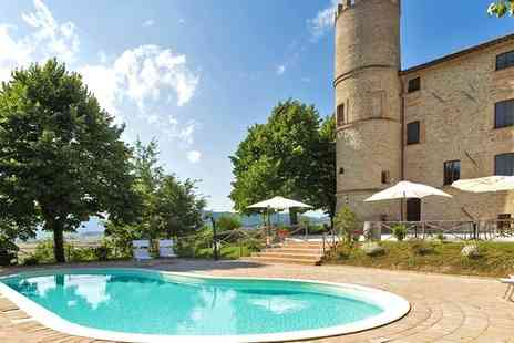 Castello di Baccaresca - Four Star Medieval Castle in the Heart of Umbria for two - Save 49%