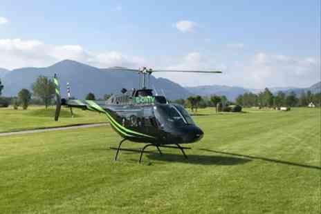 Northumbria Helicopters - Couples Helicopter Flight with Bubbly and Chocolates for Two - Save 13%
