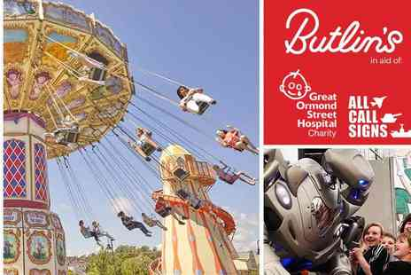 Butlins - Amazing Day Out with Proceeds Going to Charity - Save 50%
