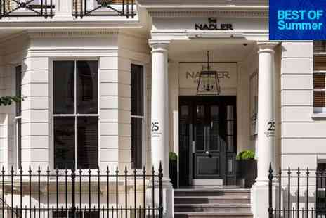 The Nadler Kensington - Four Star Townhouse Stay in the Royal Borough for two - Save 72%