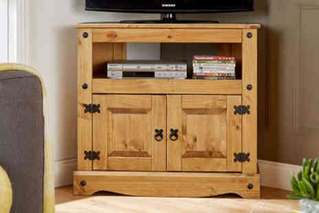 Big Furniture Warehouse - Corner TV cabinet or Flatscreen TV cabinet - Save 0%