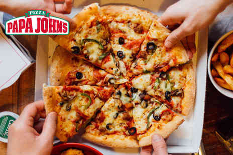 Papa Johns Derby - Small pizza with two toppings, large pizza with three toppings or XXL pizza with three toppings for delivery - Save 85%