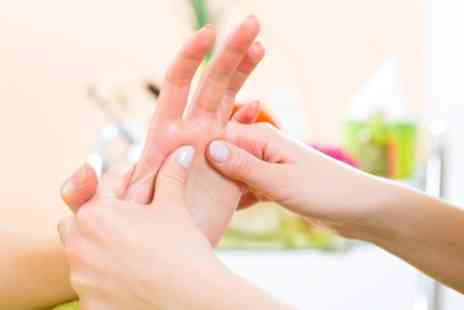 Wellness Therapy 4U - 30 Minute Hand and Foot Massage or One Hour Indian Head or Shiatsu Massage - Save 40%