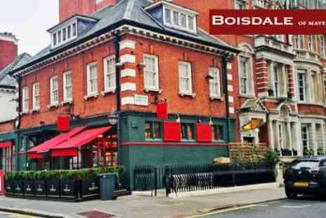 Boisdale of Mayfair - Chateaubriand, Side, Sauces and All You Can Eat Chips with Optional Champagne - Save 54%