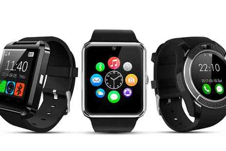Groupon Goods Global GmbH - BAS-Tek Smartwatch Various Designs and Colours - Save 0%