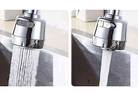 J Star Direct - 360 Degree Swivel Tap Nozzle - Save 68%