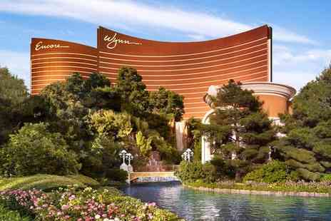 Wynn Las Vegas - Five Star Lavish Sin City Stay in Fabulous Strip Location for two - Save 70%