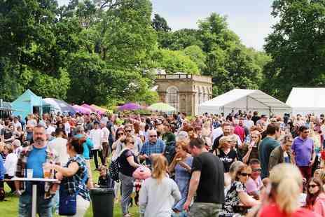 The Great British Food Festival - Food festival entry for Two - Save 33%